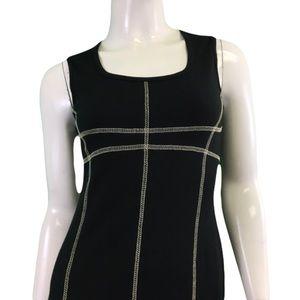 NWT Laura Hlavac Black Dress